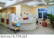 Пост дежурной медсестры №1, эксклюзивное фото № 6774221, снято 8 декабря 2014 г. (c) Константин Косов / Фотобанк Лори