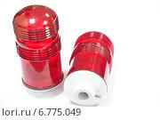 Красный фонарь. Стоковое фото, фотограф Дмитрий Панкрашин / Фотобанк Лори