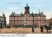 Купить «Вид на Королевский дворец на площади Дам в Амстердаме», фото № 6779657, снято 22 мая 2019 г. (c) Юрий Кобзев / Фотобанк Лори