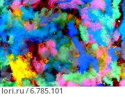 Купить «Разноцветный фон из мазков гуашью», иллюстрация № 6785101 (c) Анна Павлова / Фотобанк Лори