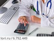 doctor and bureaucracy. Стоковое фото, фотограф Erwin Wodicka / Фотобанк Лори
