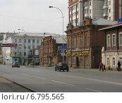 Курган. Улица Гоголя (2014 год). Редакционное фото, фотограф Сергей Скрипко / Фотобанк Лори