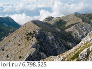 Горные вершины. Черногория (2014 год). Стоковое фото, фотограф Евгений Макеев / Фотобанк Лори