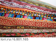 Купить «Яркие декоративные ленты», фото № 6801165, снято 15 февраля 2014 г. (c) Anna Kavchik / Фотобанк Лори
