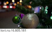 Купить «Украшенная новогодняя елка», видеоролик № 6805181, снято 2 декабря 2014 г. (c) Данил Руденко / Фотобанк Лори