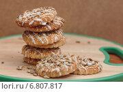 Горка печенья. Стоковое фото, фотограф Анна Губина / Фотобанк Лори