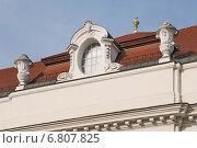 Фрагмент. Крыша. Здание Национальной библиотеки (Österreichische Nationalbibliothek).Вена. Австрия (2014 год). Стоковое фото, фотограф stargal / Фотобанк Лори