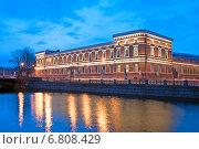 Купить «Центральный военно-морской музей. Санкт-Петербург», фото № 6808429, снято 16 декабря 2014 г. (c) Румянцева Наталия / Фотобанк Лори