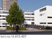 Bonn, Germany, the main radio station Deutsche Welle in Schuermann construction (2012 год). Редакционное фото, агентство Caro Photoagency / Фотобанк Лори
