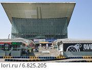 """Купить «Павильон № 70 """"Москва"""" на ВДНХ», эксклюзивное фото № 6825205, снято 8 мая 2010 г. (c) Алёшина Оксана / Фотобанк Лори"""