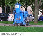 Купить «Агрегат для приготовления и подачи бетонной смеси», эксклюзивное фото № 6834421, снято 4 июля 2012 г. (c) lana1501 / Фотобанк Лори