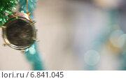 Купить «Новогодняя игрушка в виде барабана на ёлке», видеоролик № 6841045, снято 24 декабря 2014 г. (c) Потийко Сергей / Фотобанк Лори