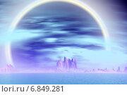 Купить «Чужая планета. Скалы и море», иллюстрация № 6849281 (c) Parmenov Pavel / Фотобанк Лори