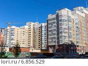 Купить «Современные жилые высотные дома в Екатеринбурге», фото № 6856529, снято 20 мая 2014 г. (c) Евгений Ткачёв / Фотобанк Лори