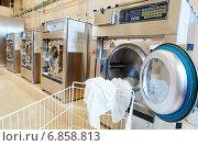 Купить «laundry services», фото № 6858813, снято 7 декабря 2014 г. (c) Дмитрий Калиновский / Фотобанк Лори