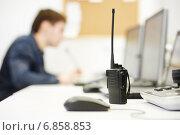 Купить «Security video surveillance equipment», фото № 6858853, снято 28 декабря 2014 г. (c) Дмитрий Калиновский / Фотобанк Лори