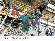 Купить «house-building plant», фото № 6858937, снято 21 февраля 2014 г. (c) Дмитрий Калиновский / Фотобанк Лори