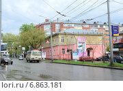 Томск, переулок 1905 года (2014 год). Редакционное фото, фотограф Илья Пермяков / Фотобанк Лори