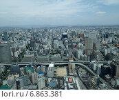 Нагоя, вид с 38 этажа (2014 год). Редакционное фото, фотограф Maria Drabkina / Фотобанк Лори