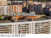 Пос. Краснообск, вид сверху. Стоковое фото, фотограф Синицын Юрий Альбертович / Фотобанк Лори