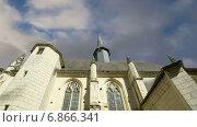 Купить «Замок Юссе, Долина Луары», видеоролик № 6866341, снято 5 января 2015 г. (c) Владимир Журавлев / Фотобанк Лори