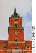 Купить «Башня Сигизмунда Королевского замка в Варшаве, Польша. Построен в 1618 г., реконструирован в 1988 г. Объект ЮНЕСКО», фото № 6869425, снято 18 октября 2014 г. (c) Иван Марчук / Фотобанк Лори