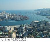 Город Пусан, Южная Корея. Стоковое фото, фотограф Василий Слободенюк / Фотобанк Лори
