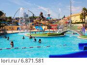 Water attractions at Water Park (2014 год). Редакционное фото, фотограф Яков Филимонов / Фотобанк Лори