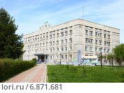 Купить «Администрация Ленинского округа города Комсомольска-на-Амуре», фото № 6871681, снято 17 мая 2014 г. (c) Валерий Митяшов / Фотобанк Лори