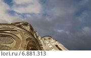 Собор базилика Монреале, Римско-католическая церковь в Монреале, Сицилия, Южная Италии (2015 год). Стоковое видео, видеограф Владимир Журавлев / Фотобанк Лори