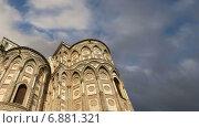 Собор-базилика Монреале, Римско-католическая церковь в Монреале, Сицилия, Южная Италия (2015 год). Стоковое видео, видеограф Владимир Журавлев / Фотобанк Лори