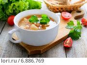 Купить «Фасолевый суп», фото № 6886769, снято 7 декабря 2014 г. (c) Марина Славина / Фотобанк Лори