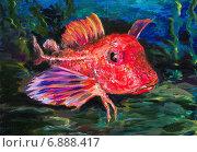 Купить «Картина. Морской петух», иллюстрация № 6888417 (c) Олег Хархан / Фотобанк Лори
