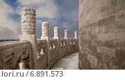 Стена храма Неба в Пекине, Китай (2015 год). Стоковое видео, видеограф Владимир Журавлев / Фотобанк Лори