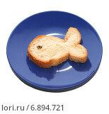 Купить «Хлеб в виде рыбки», фото № 6894721, снято 14 января 2015 г. (c) Стефания Домогацкая / Фотобанк Лори