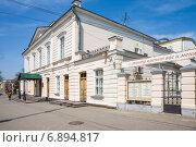 Купить «Драматический театр в Таганроге», фото № 6894817, снято 19 апреля 2014 г. (c) Борис Панасюк / Фотобанк Лори
