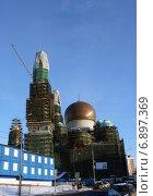 Московская соборная мечеть на проспекте Мира (2014 год). Стоковое фото, фотограф Данила Васильев / Фотобанк Лори