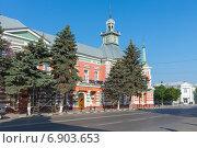 Купить «Здание Азовского музея-заповедника», фото № 6903653, снято 10 июня 2014 г. (c) Борис Панасюк / Фотобанк Лори