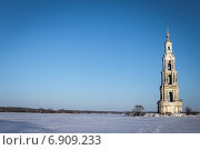 Затопленная колокольня. Стоковое фото, фотограф Екатерина Рыжова / Фотобанк Лори