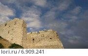 Купить «Средневековый замок Критиния, Родос, Греция, Додеканес», видеоролик № 6909241, снято 18 января 2015 г. (c) Владимир Журавлев / Фотобанк Лори