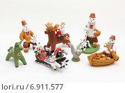 Купить «Каргопольские игрушки», эксклюзивное фото № 6911577, снято 22 сентября 2012 г. (c) Самохвалов Артем / Фотобанк Лори