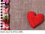 Цветные нитки для вышивания. Стоковое фото, фотограф Вячеслав Плясенко / Фотобанк Лори