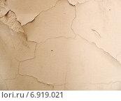 Трещины в стене. Стоковое фото, фотограф Вотякова Ирина / Фотобанк Лори