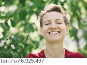 Купить «happy spring portrait», фото № 6925497, снято 14 мая 2014 г. (c) Vesna / Фотобанк Лори