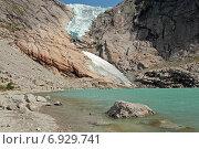 Ледник Бриксдалсбреен (2014 год). Стоковое фото, фотограф Анастасия Калинцева / Фотобанк Лори