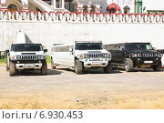 Купить «Стоянка лимузинов у кремлёвской стены в Измайлово», эксклюзивное фото № 6930453, снято 17 июня 2012 г. (c) Алёшина Оксана / Фотобанк Лори