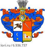 Купить «Герб династии Тургеневых», иллюстрация № 6936737 (c) Владимир Макеев / Фотобанк Лори