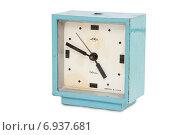 Купить «Старый советский будильник», фото № 6937681, снято 27 января 2015 г. (c) Наталья Осипова / Фотобанк Лори