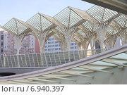 Купить «Вокзал Ориенте. Лиссабон, Португалия.», фото № 6940397, снято 25 октября 2014 г. (c) Мария Николаева / Фотобанк Лори
