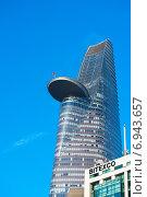 """Купить «Башня """"Битекско"""" в Сайгоне. Bitexco Financial Tower, Saigon, Vietnam», фото № 6943657, снято 15 января 2015 г. (c) Александр Подшивалов / Фотобанк Лори"""
